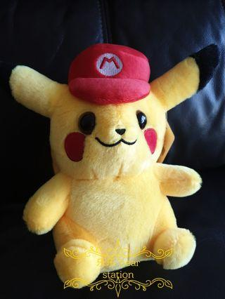 Soft toy bear authentic from japan pikachu