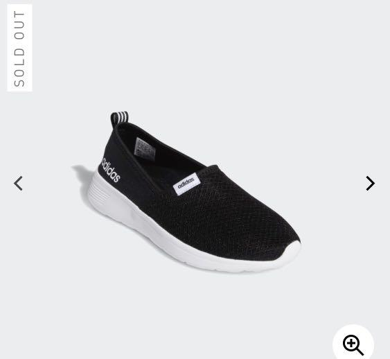 Adidas NEO Women's Lite Racer Slip On Casual Sneakers on