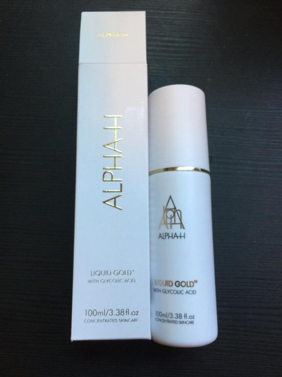 Alpha-H Liquid Gold WITH Glycolic Acid. SIZE: 100ml BRAND NEW IN BOX & AUTHENTIC $40 EACH (PRICE IS FIRM) RRP @ Sephora $60
