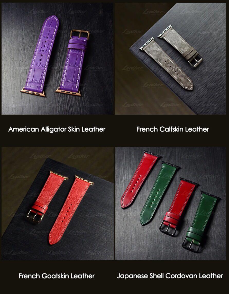 Apple watch strap 40mm/44mm (Handmade Leather Watch Straps)