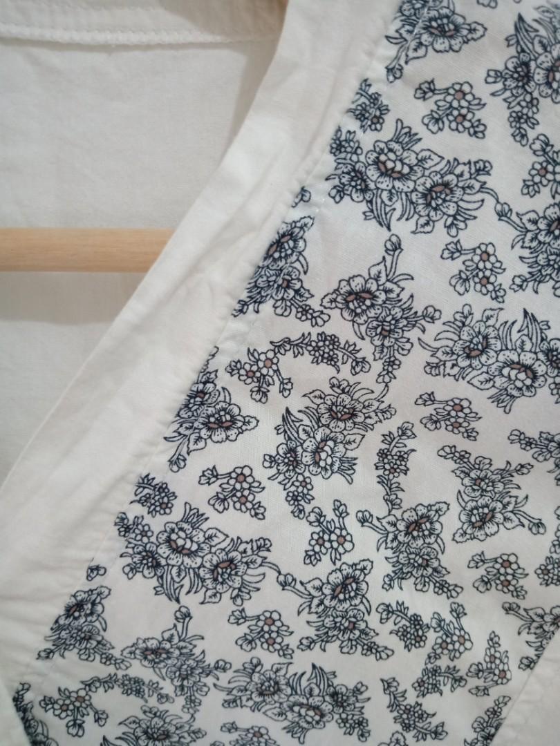 #hemat2020 Atasan Kimono Putih