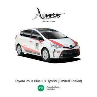 New Toyota Prius Plus (MPV) - Car Rental for Private Hire/Grab use