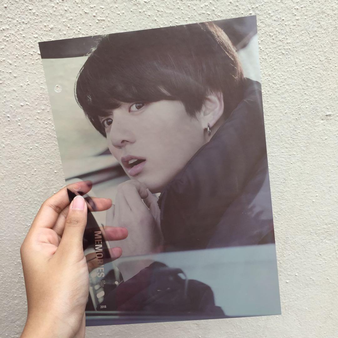 [ WTS - Loose Items ] BTS Memories Of 2018 DVD - Clear Photo Index