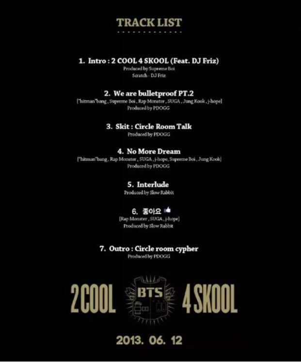 {BTS 방탄소년단 2COOL4SKOOL} -Sealed With Original Contents +Store Gift BTS Stickers