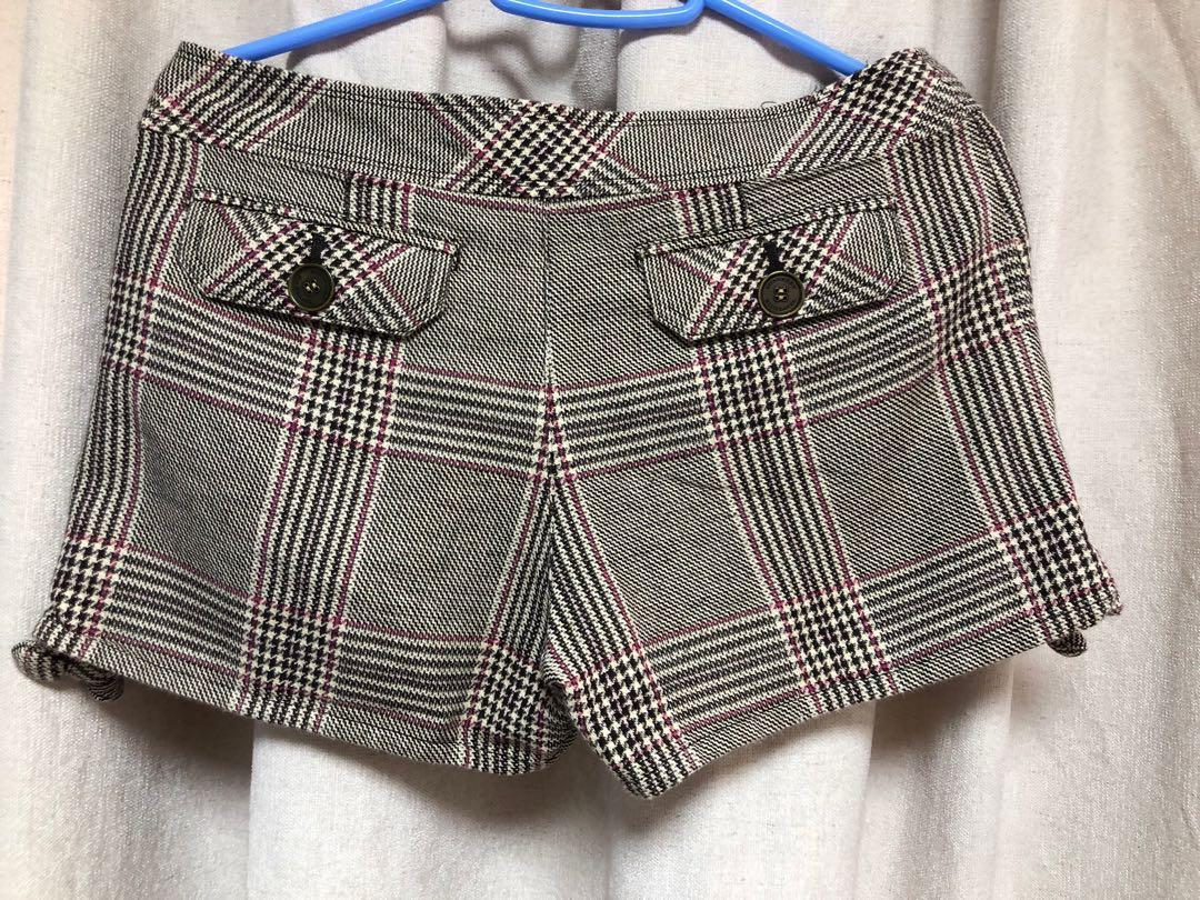 Burberry blue label 熱褲/格仔短褲