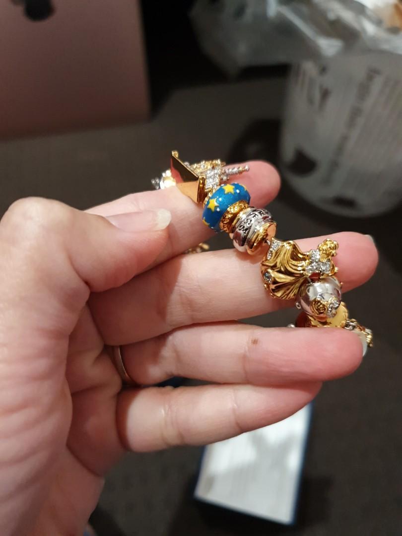 Disney Bracellet plated gold