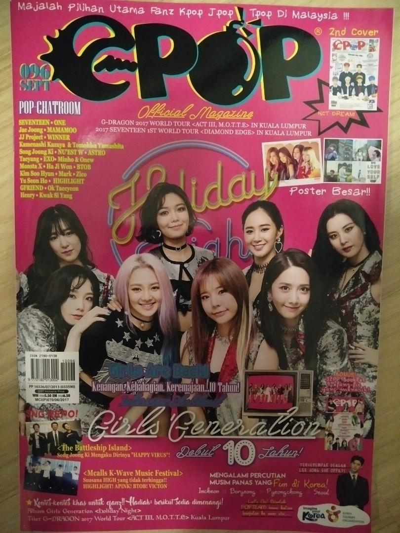 Epop Malay Magazine (Cover:Girls Generation and NCT DREAM)