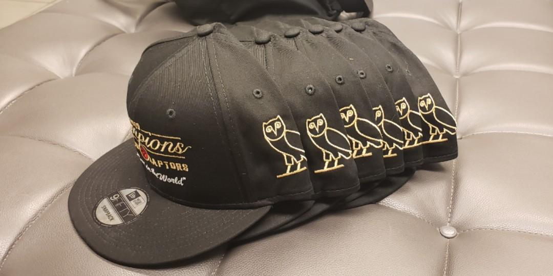 Exclusive OVO 2019 championship raptors hat, snapback