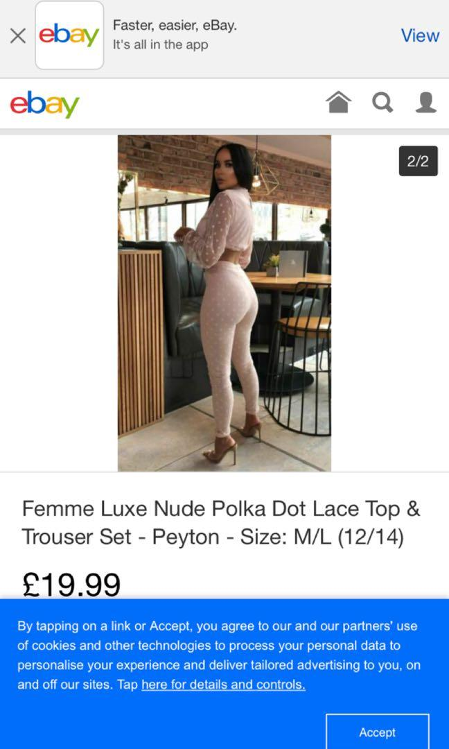 Femme luxe co ord