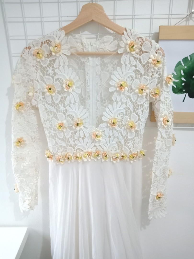 #hemat2020 Gaun / Baju Nikah Rustic Simple