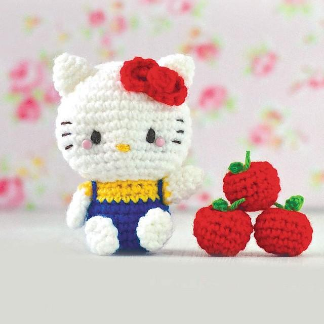 fabartdiy Crochet Teddy Bear Keychain Amigurumi Free Patterns f | 640x640