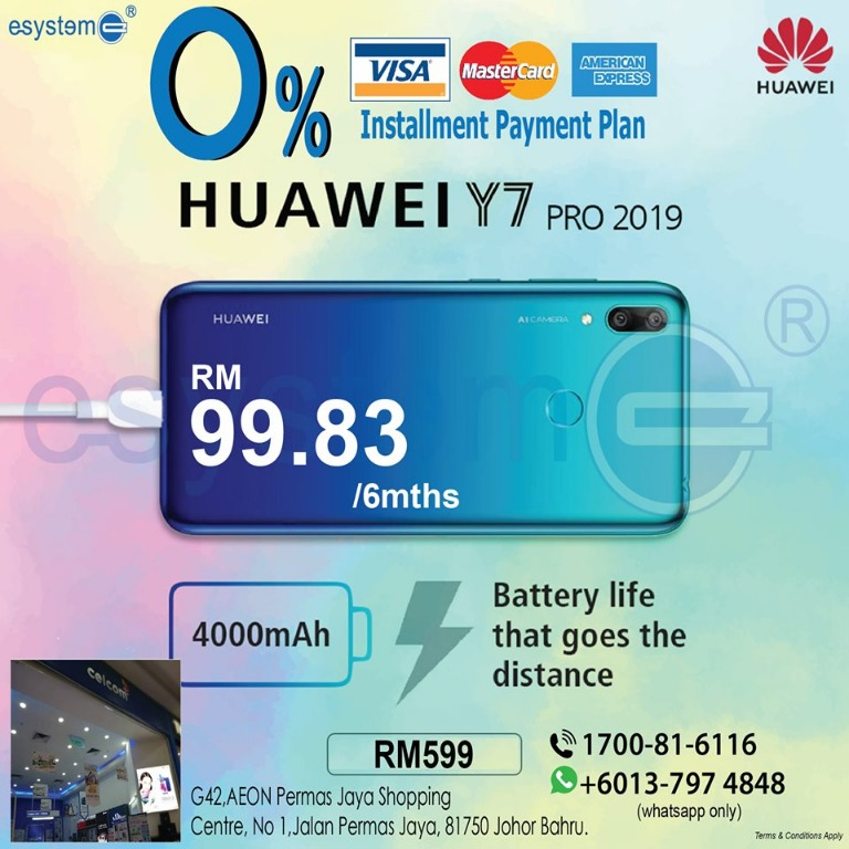 Huawei Y7 pro 2019 on Carousell