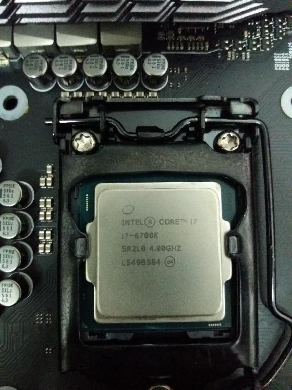 i7 6700k + Asus ROG Maximus VIII 8 HERO