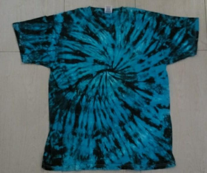 Kaos tie dye import fruit of the loom