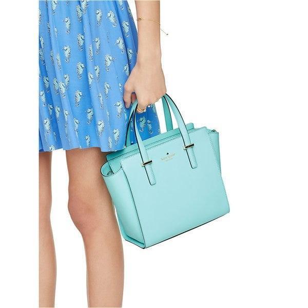 Kate Spade Atoll/ Tiffany Blue Cedar Street Hayden Satchel Bag