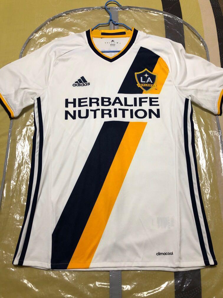 brand new 14161 00f12 LA Galaxy Home Kit, Sports, Sports Apparel on Carousell
