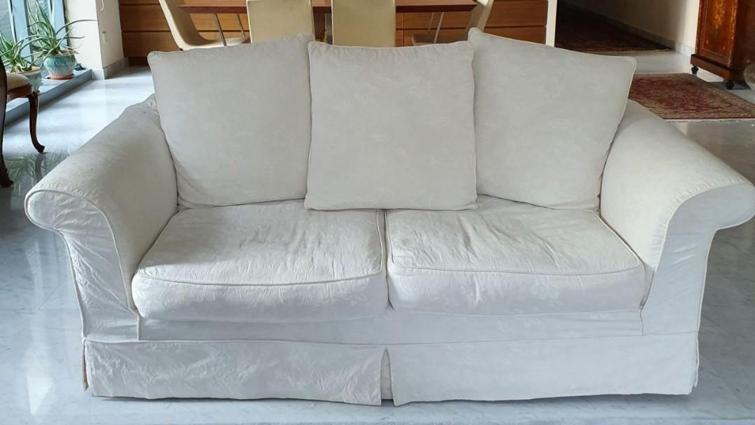 Laura Ashley sofa, Furniture, Sofas on Carousell