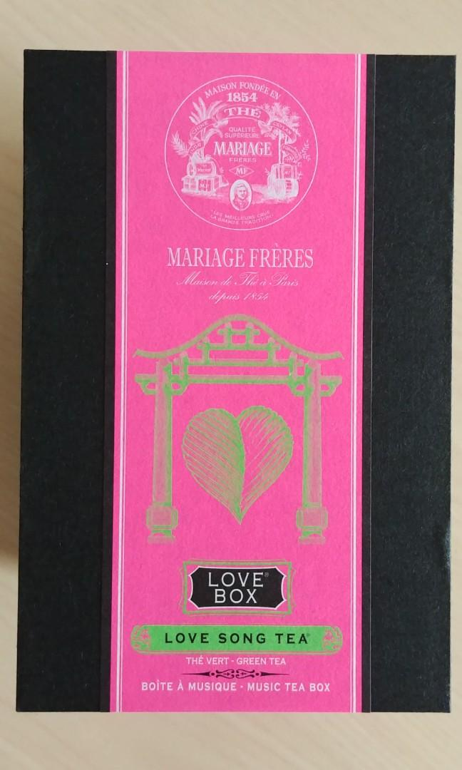 Mariage Freres - Music Tea Box