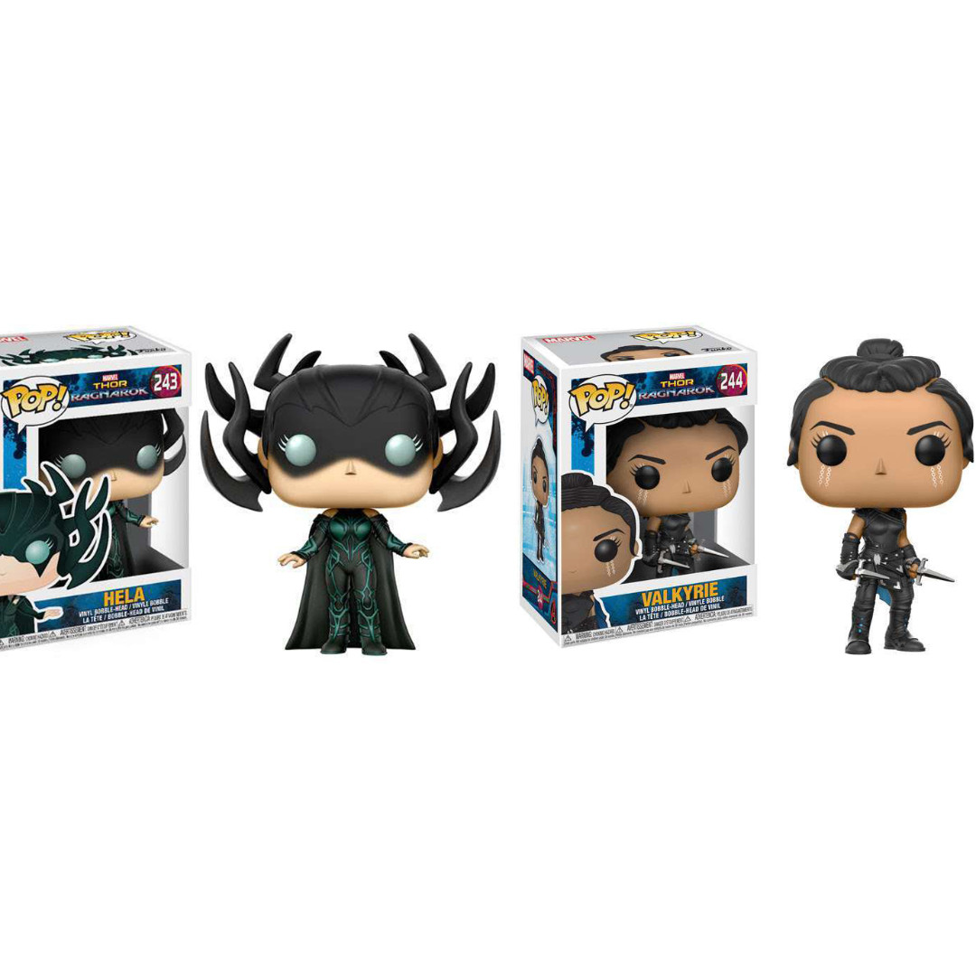 Marvel Funko Pop Thor Ragnarok Hela Valkyrie Figure Toy Toys Games Toys On Carousell