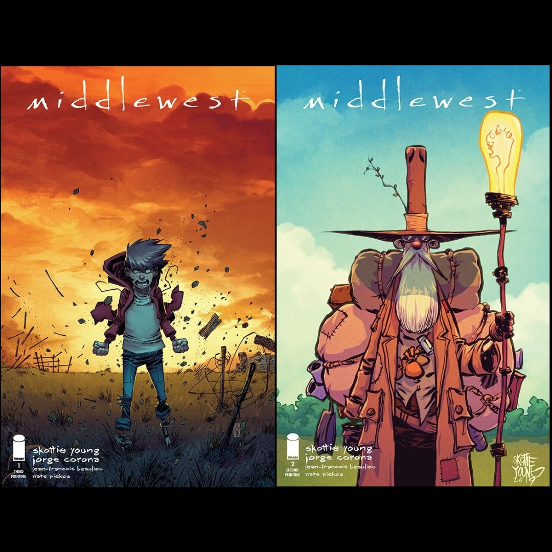 1st Print Middlewest #2 Bagged Jorge Corona Image New- Skottie Young