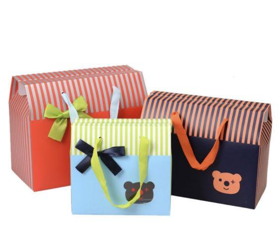 Mini Bear Gift Bags Babies Kids
