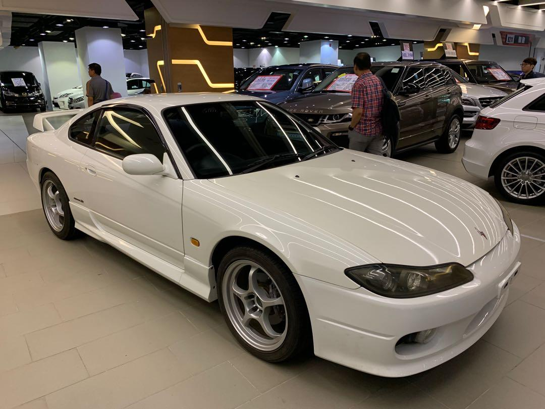 NISSAN silver s15 space R