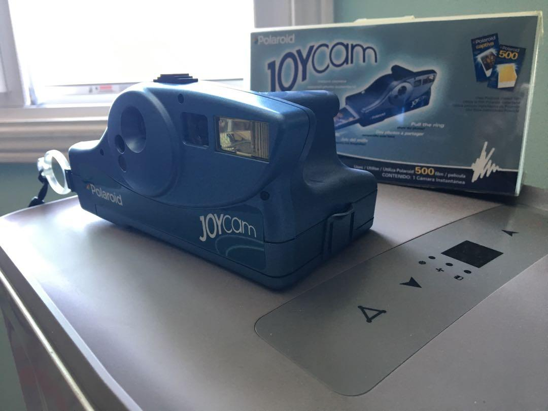 Polaroid Joycam Blue Instant Camera negotiable/bestoffer
