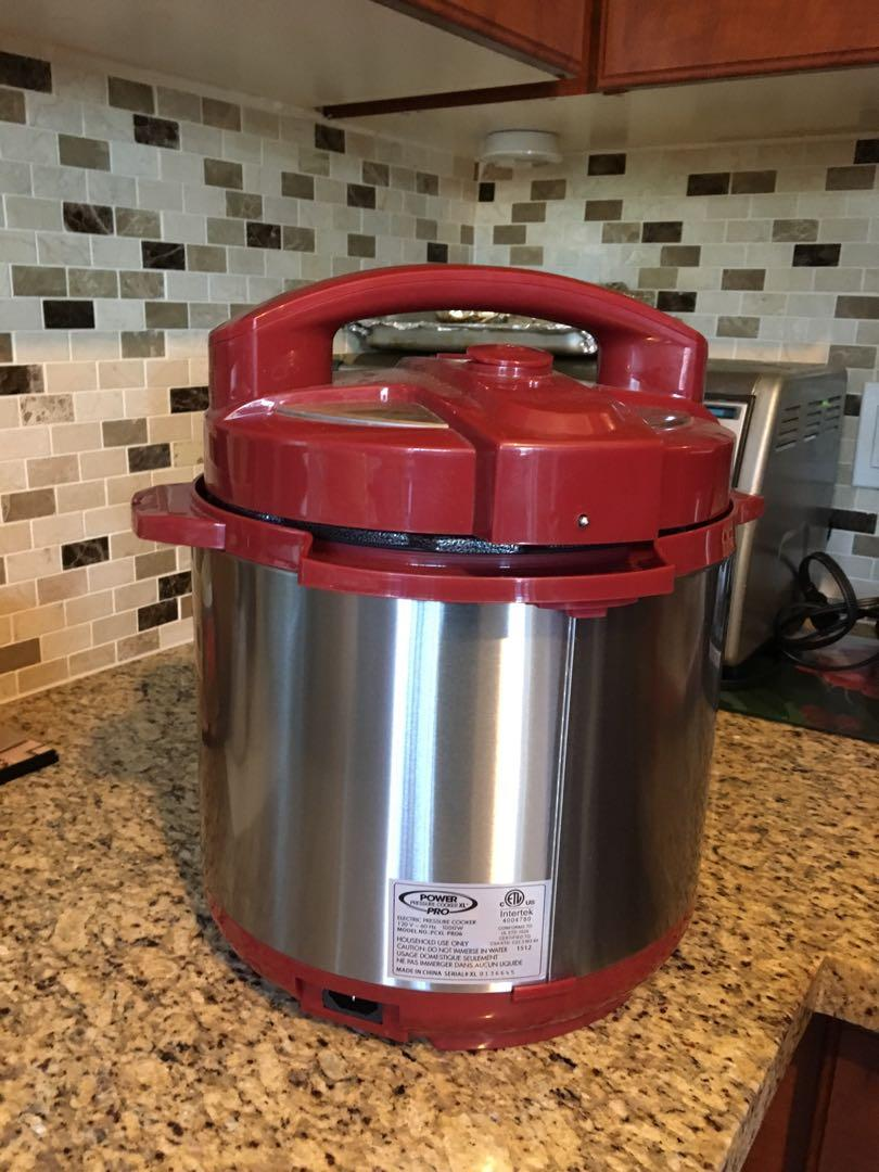 Power Pressure Cooker XL RED Negotiable/Best offer Brand New