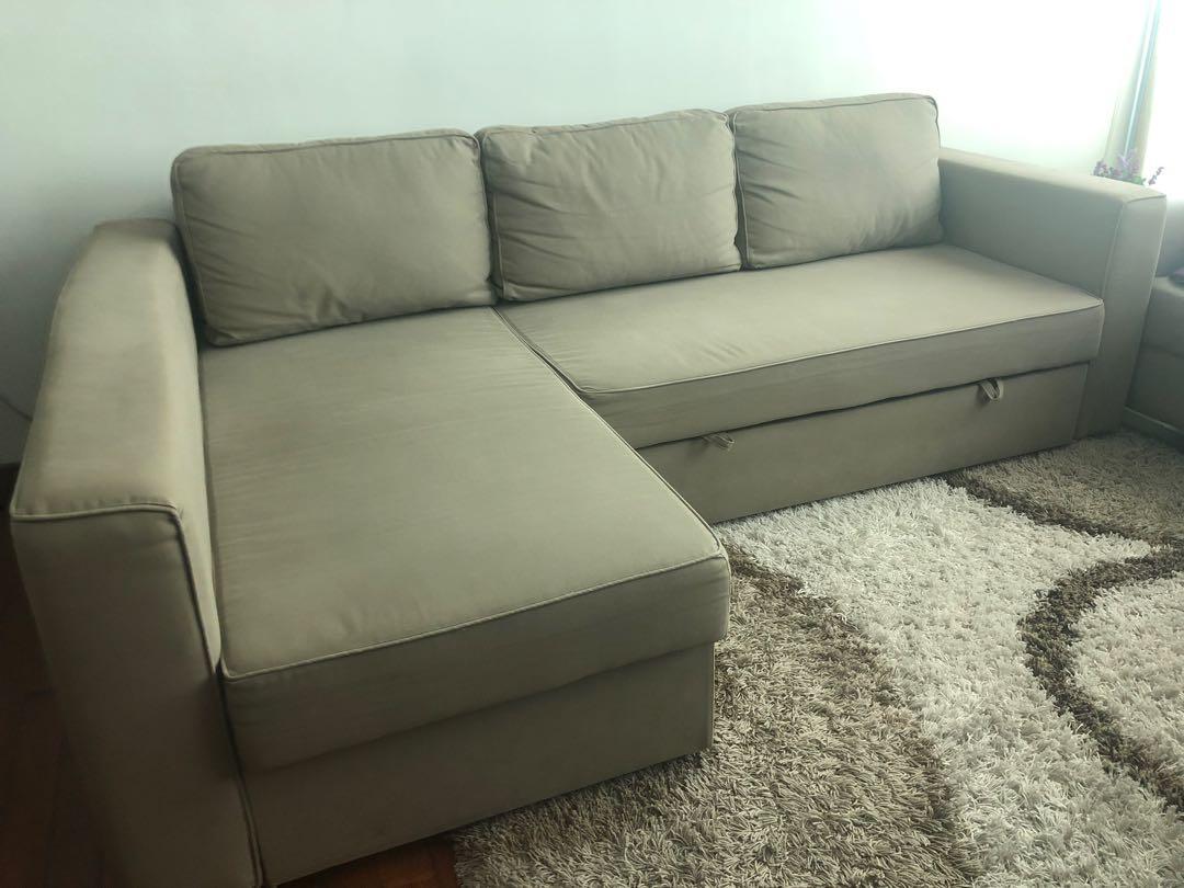 Sofa Bed W Storage Furniture Sofas On Carousell