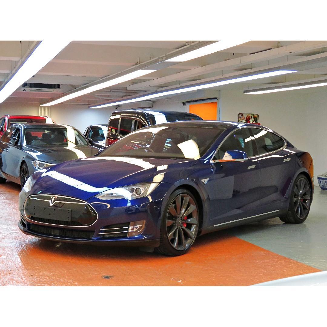 Tesla MODEL S 開倉優惠月供$5000 起 地址:荔枝角道808號好運工業中心3樓 #D2旁邊