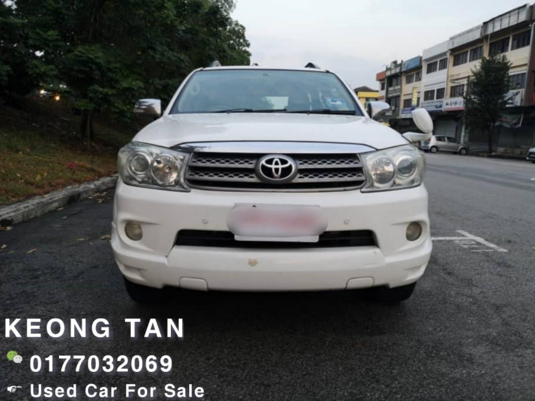 TOYOTA FORTUNER 2.7AT PETROL 2009TH JohorPlate 🎉TipTop Condition/LEATHER SEAT Cash🎉OfferPrice💲Rm39,800 Only ‼LowestPrice InJB‼ Interested Call📲Keong 0177032069🤗