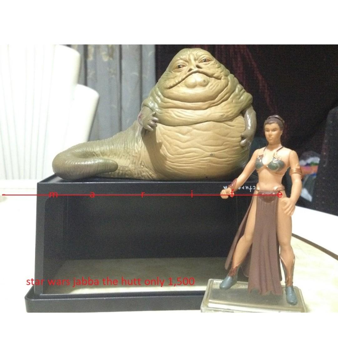 vintage figure star wars jabba the hutt on Carousell
