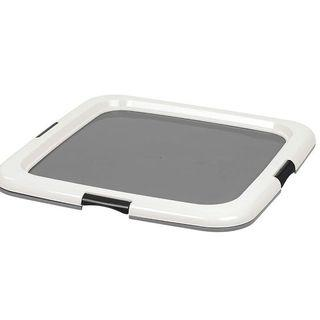 Square pet training pad holder