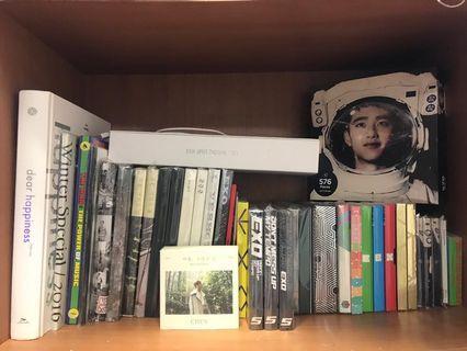 EXO ALBUMS, LIGHTSTICK, KIHNO, PHOTOBOOK