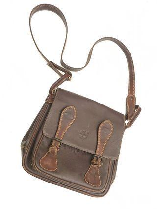 Original TIMBERLAND leather sling bag