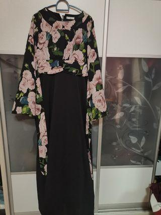 Black Long Maxidress