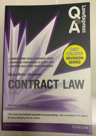 5 Contract Law Books