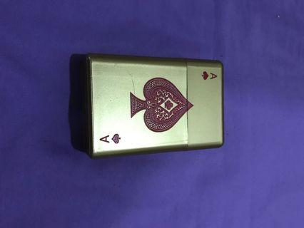 Cigarette Box Cover ( Ace Of Spades )