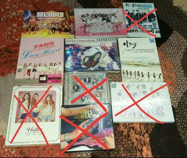 Preloved album GIRLS GENERATION ALBUM OFFICIAL UNSEALED