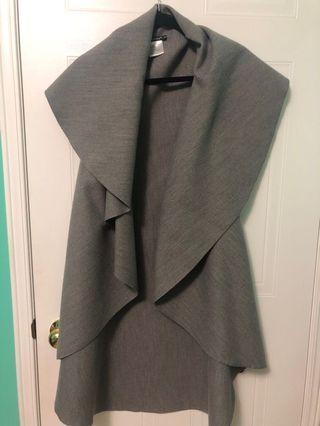 Long grey vest