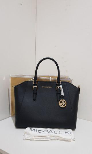 Michael kors ciara black large