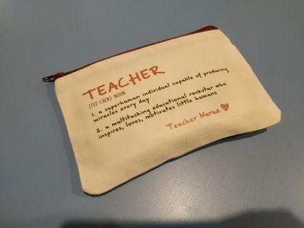 Cheapest teachers day gift (pencil case)