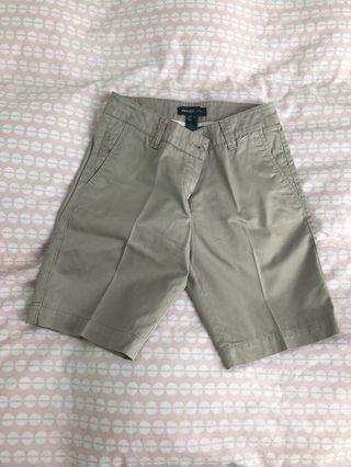 Mango Khaki Shorts size EUR34