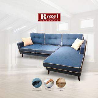 L Shape Fabric Sofa