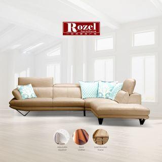 NATUZI Leather Sofa