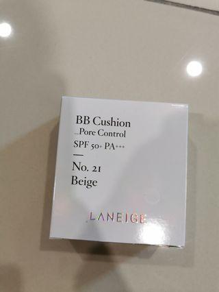 [NEW] Laneige BB Cushion pore control No. 21 BEIGE REFILL
