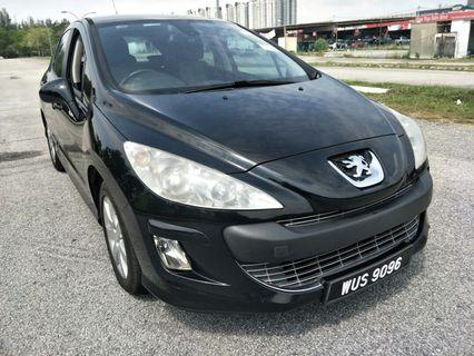 2010 peugeot 308 1.6 vti (a) perfect condition