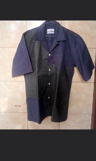 Elhaus Glide Shirt Sashiko Patch