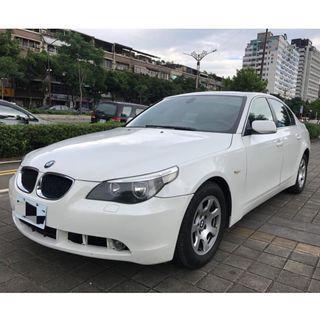 BMW E60 520i 優質中古車 二手車 零頭款 全額貸 代步車 車況好 無事故
