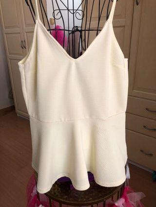 Textured sleeveless top